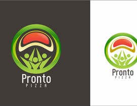 #270 para Logo Design for pronto pizza web site por rueldecastro