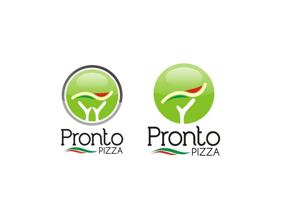 #12 for Logo Design for pronto pizza web site by santosrodelio