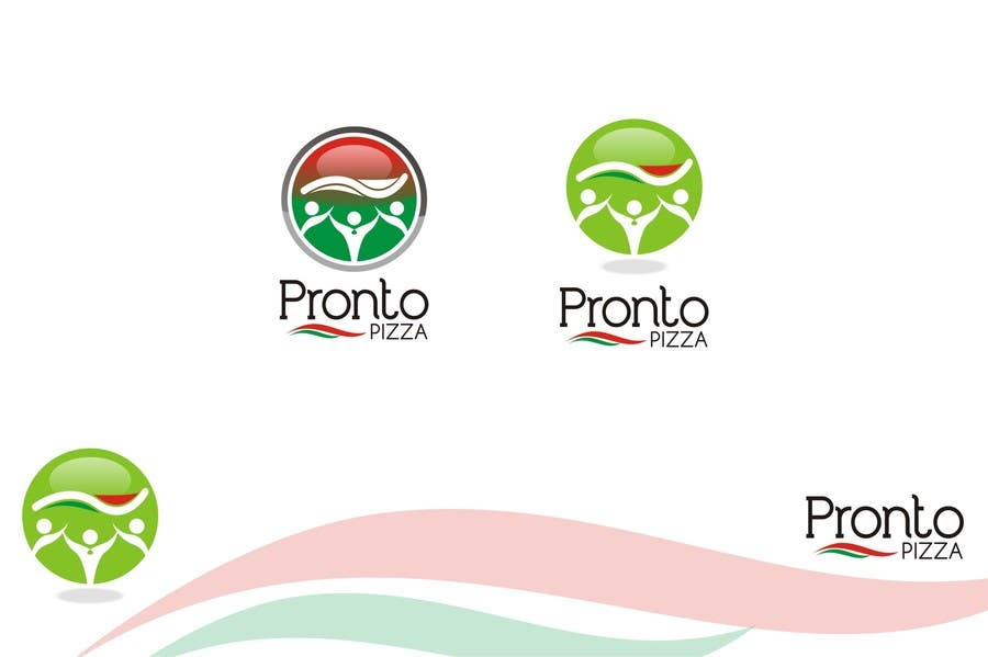#115 for Logo Design for pronto pizza web site by santosrodelio