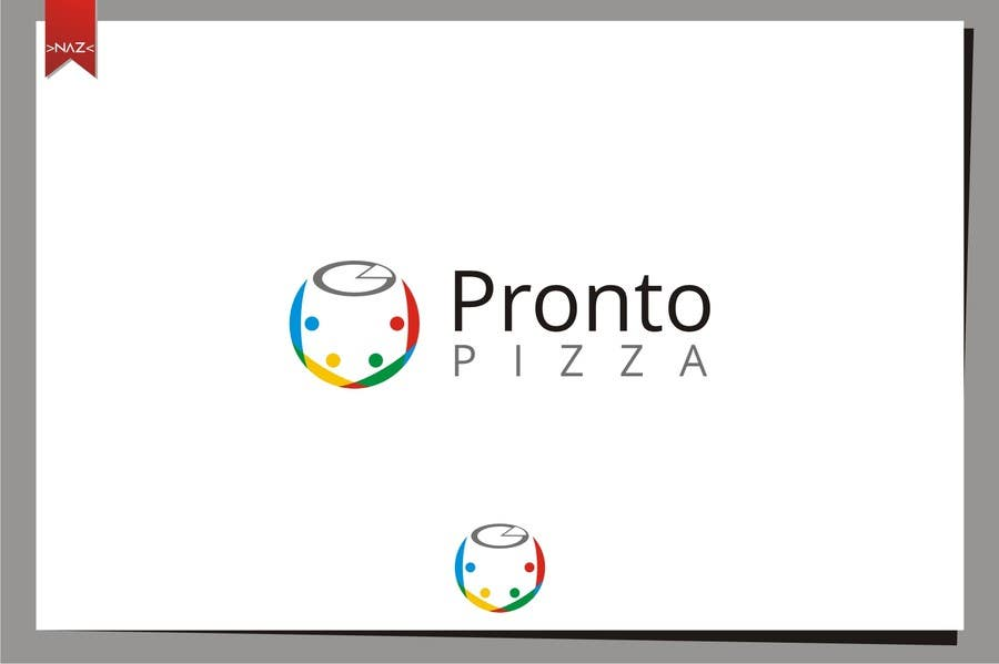 #105 for Logo Design for pronto pizza web site by N0A0Z