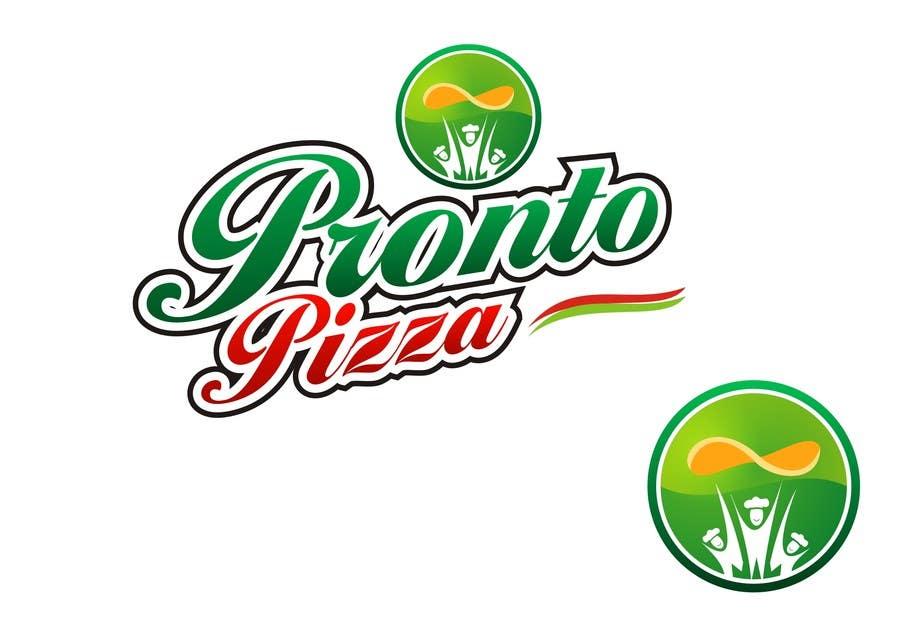 #271 for Logo Design for pronto pizza web site by shobbypillai
