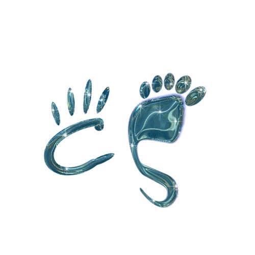 Kilpailutyö #20 kilpailussa Design a Logo using abstract footprint shape