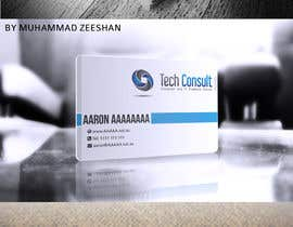 nº 7 pour Design some Business Cards for Tech Consult par Zeshu2011