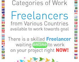 vinu91 tarafından Design an Advertisement for Freelancer.com to go in an eBook. için no 9