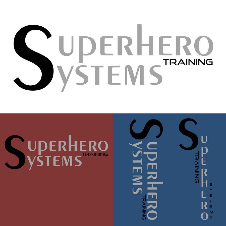 "#21 for Design a Logo for ""Superhero Training Systems"" by Siddhant7Saxena"
