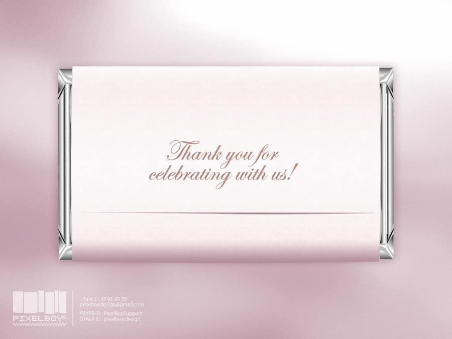 Bài tham dự cuộc thi #                                        16                                      cho                                         Design a Hershey Bar wrapper in Photoshop