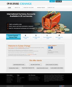 #20 para Redesign the front page and concept for an existing website por kreativeminds