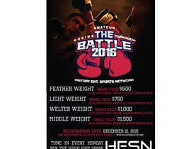#13 for Design a Flyer for my Boxing tournament Easy money! by CorneliaTeo