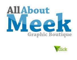 #66 untuk Design a Logo for All About Meek oleh NabilEdwards