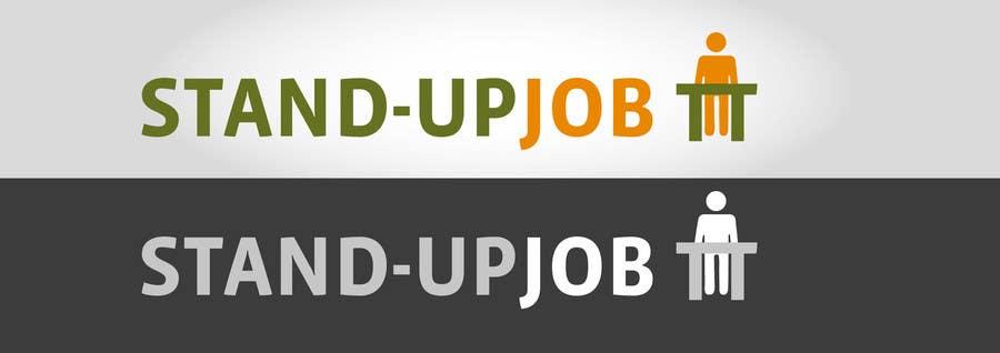 Bài tham dự cuộc thi #                                        77                                      cho                                         Design a Logo for Stand-UpJob.com