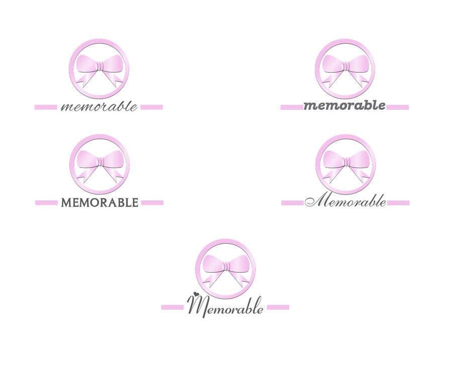 """Penyertaan Peraduan #20 untuk Design logo for """"Memorable Wedding.me"""""""