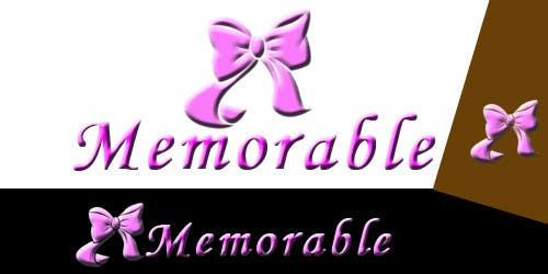 """Penyertaan Peraduan #13 untuk Design logo for """"Memorable Wedding.me"""""""
