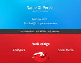 nº 1 pour Create Business Cards for Technology Company par andrewslattery