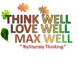 #168 for Logo for ThinkWell LoveWell MaxWell af krazyshail