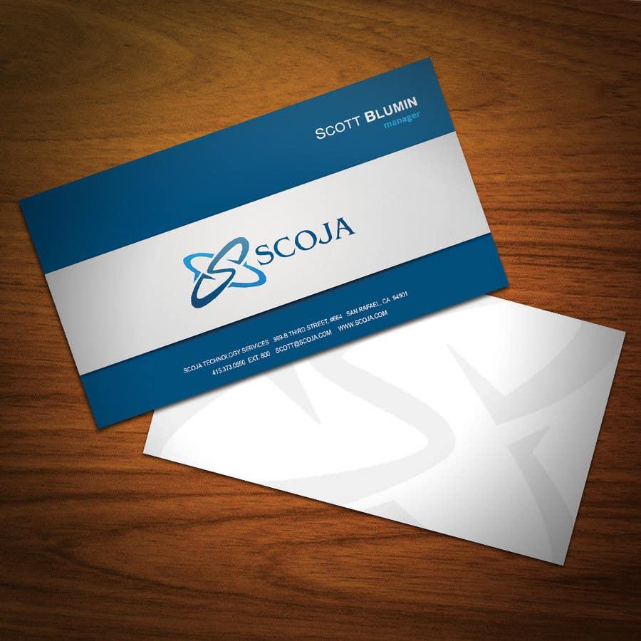 Bài tham dự cuộc thi #                                        16                                      cho                                         Business Card Design for SCOJA Technology Partners