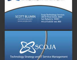 #391 pentru Business Card Design for SCOJA Technology Partners de către Salbatyku