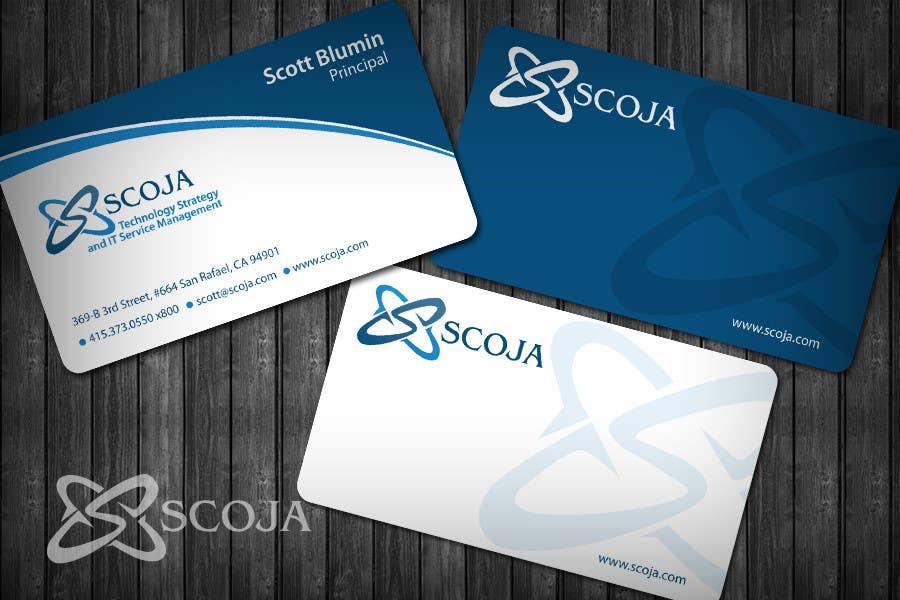 Bài tham dự cuộc thi #                                        354                                      cho                                         Business Card Design for SCOJA Technology Partners