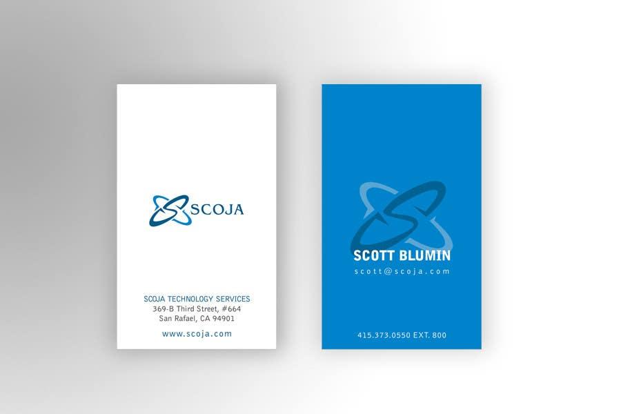 Bài tham dự cuộc thi #                                        26                                      cho                                         Business Card Design for SCOJA Technology Partners