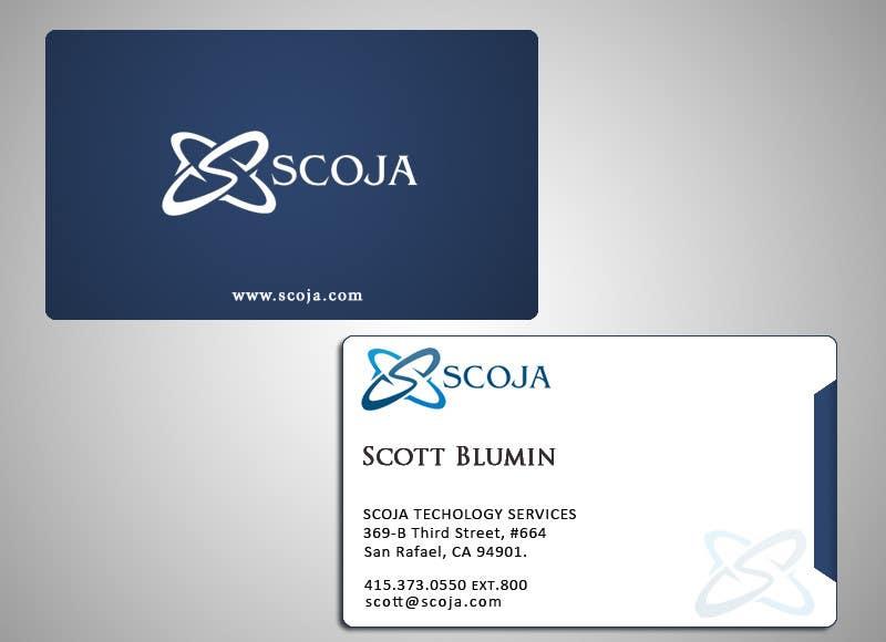 Bài tham dự cuộc thi #                                        106                                      cho                                         Business Card Design for SCOJA Technology Partners