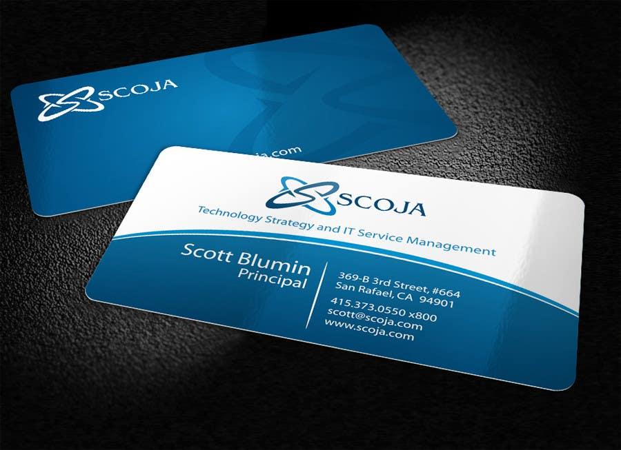 Bài tham dự cuộc thi #                                        312                                      cho                                         Business Card Design for SCOJA Technology Partners