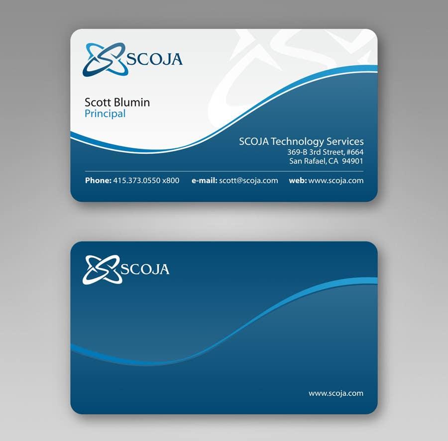 Bài tham dự cuộc thi #                                        330                                      cho                                         Business Card Design for SCOJA Technology Partners
