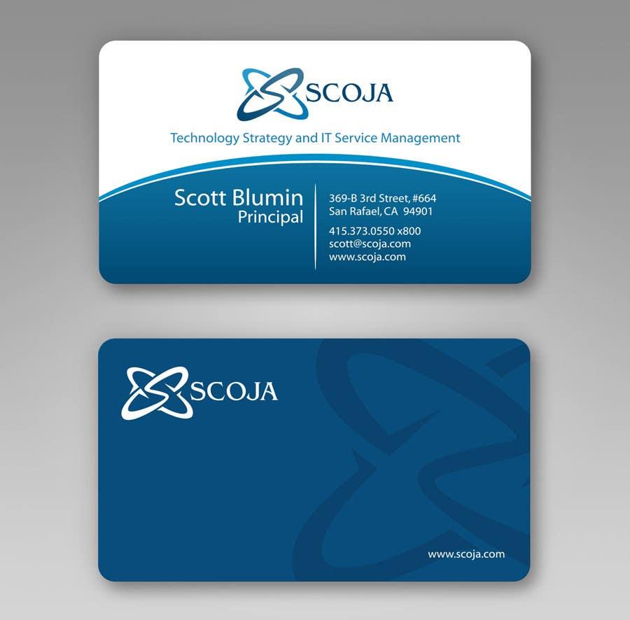 Bài tham dự cuộc thi #                                        360                                      cho                                         Business Card Design for SCOJA Technology Partners