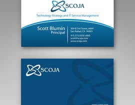 nº 362 pour Business Card Design for SCOJA Technology Partners par imaginativeGFX