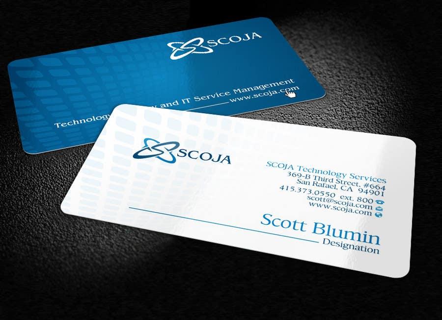 Bài tham dự cuộc thi #                                        109                                      cho                                         Business Card Design for SCOJA Technology Partners