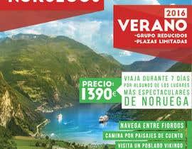 #57 untuk Poster  design for trips around Norway oleh ruizgudiol