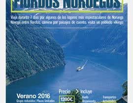 #58 untuk Poster  design for trips around Norway oleh AndreiaSantana27