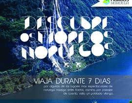 #60 untuk Poster  design for trips around Norway oleh justinebenez