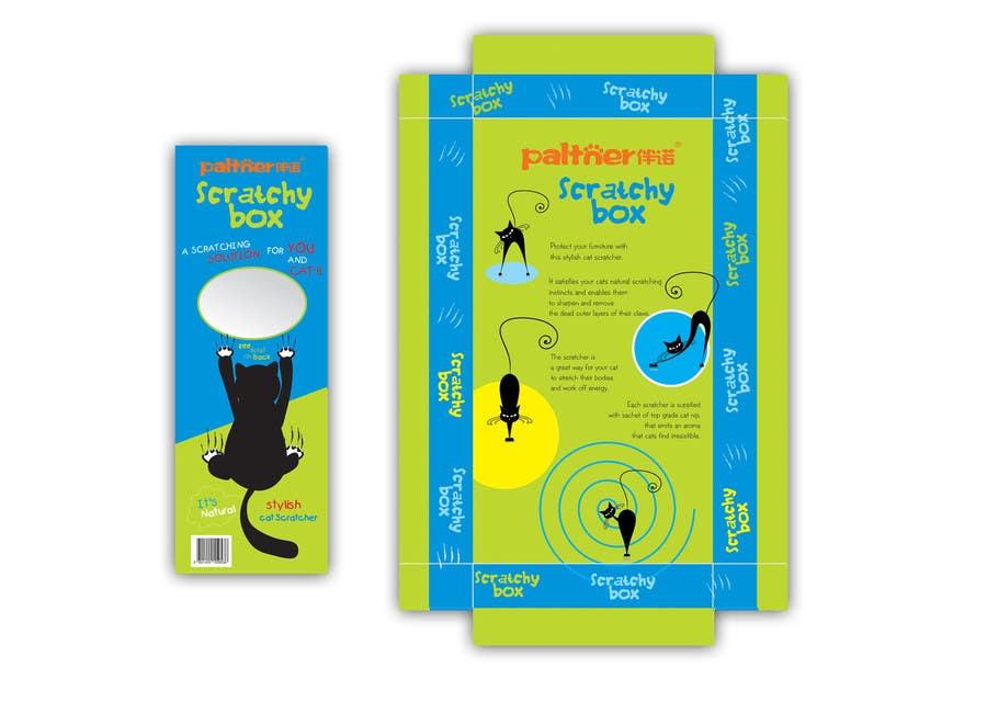 Inscrição nº 3 do Concurso para Create Print and Packaging Design-cat  scratcher box