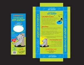 #5 para Create Print and Packaging Design-cat  scratcher box por vieghie