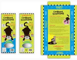 #21 para Create Print and Packaging Design-cat  scratcher box por vieghie