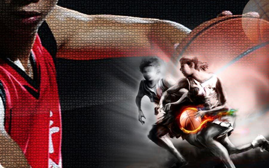 Penyertaan Peraduan #18 untuk Digital background designer for sports posters.
