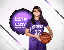 #56 untuk Digital background designer for sports posters. oleh dylzz