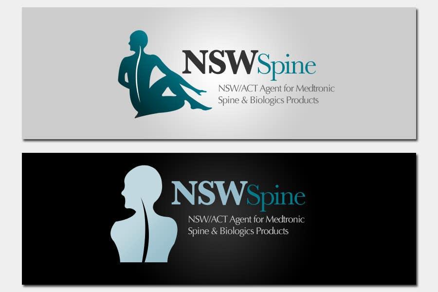 Penyertaan Peraduan #                                        61                                      untuk                                         Logo Design for NSW Spine
