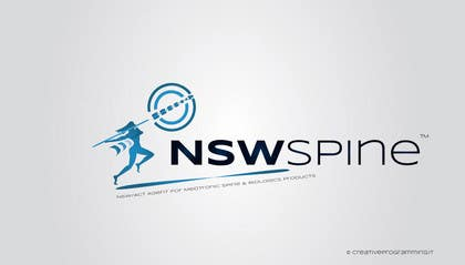 #65 para Logo Design for NSW Spine por creativeprogrmng