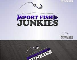 nº 89 pour Logo Design For Sport Fish Junkies Website par airbrusheskid