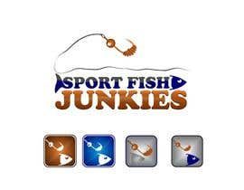 #160 cho Logo Design For Sport Fish Junkies Website bởi airbrusheskid