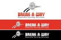 Graphic Design Contest Entry #70 for Logo Design for Break-a-way concrete cutting services pty ltd.