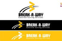 Graphic Design Contest Entry #26 for Logo Design for Break-a-way concrete cutting services pty ltd.