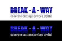 Graphic Design Contest Entry #28 for Logo Design for Break-a-way concrete cutting services pty ltd.