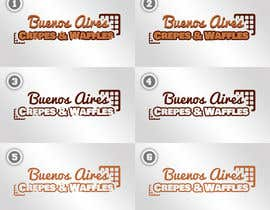#22 for Diseñar un logotipo para Buenos Aires Crepes Y Waffles by josegranja