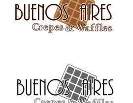 Nro 33 kilpailuun Diseñar un logotipo para Buenos Aires Crepes Y Waffles käyttäjältä anabasauri