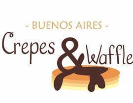 nº 29 pour Diseñar un logotipo para Buenos Aires Crepes Y Waffles par LuciaSosa