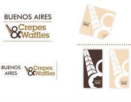 Nro 42 kilpailuun Diseñar un logotipo para Buenos Aires Crepes Y Waffles käyttäjältä marioalarcon