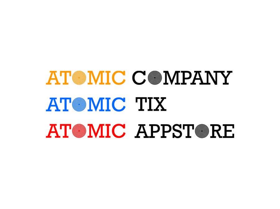 Bài tham dự cuộc thi #61 cho Design a Logo for The Atomic Series of Sites