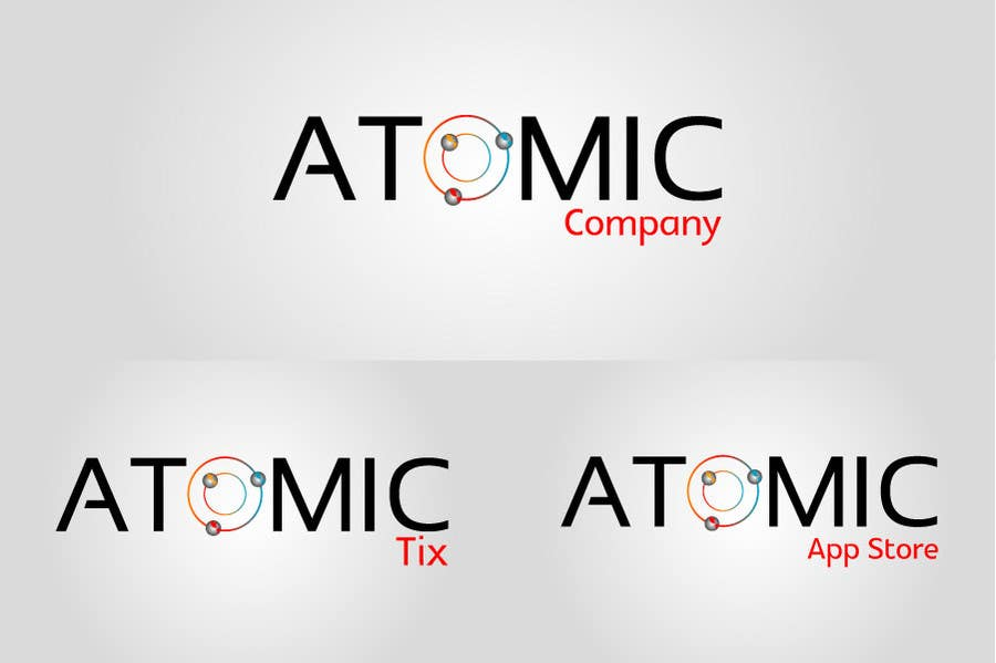Bài tham dự cuộc thi #177 cho Design a Logo for The Atomic Series of Sites