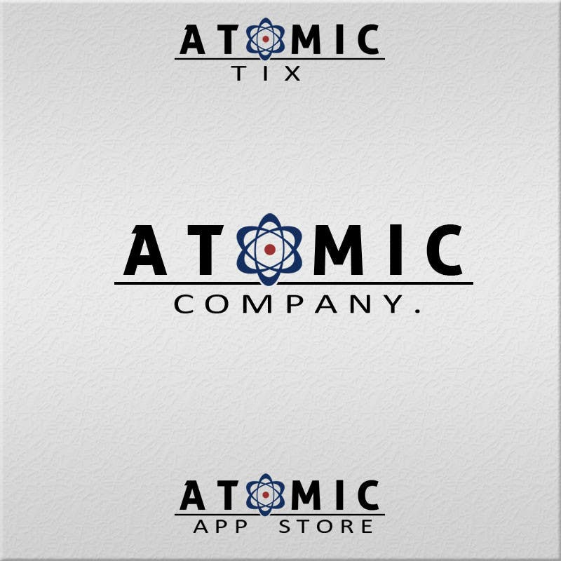 Bài tham dự cuộc thi #89 cho Design a Logo for The Atomic Series of Sites